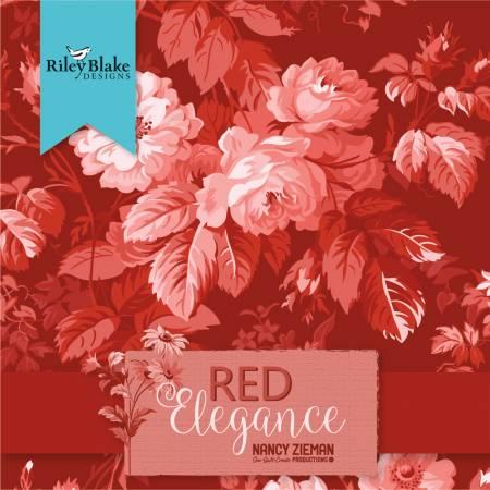 Red Elegance Fat Quarter Bundle