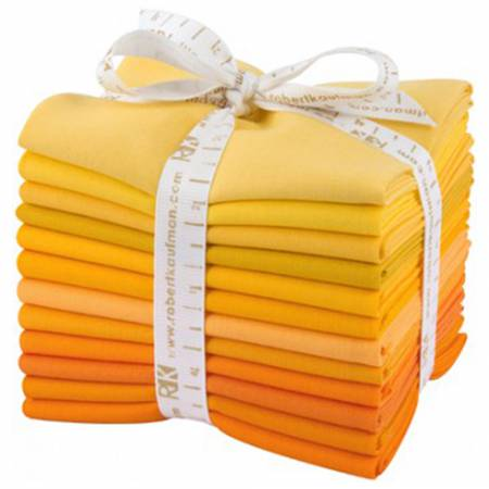 Fat Quarter Bundle Kona Cotton Citrus Burst 12pcs