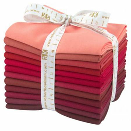 Kona Cotton Mahogany Fat Quarter Bundle 12pcs