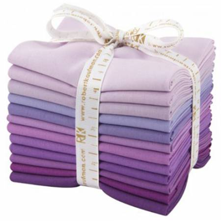 Kona Cotton Lavender Fields Fat Quarter Bundle 12pcs