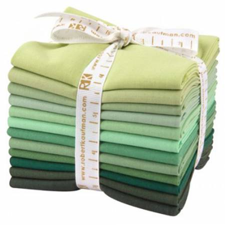 Kona Cotton Wondrous Woods Fat Quarter Bundle 12pcs