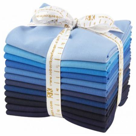 Kona Cotton Dusk to Dawn Fat Quarter Bundle 12pcs
