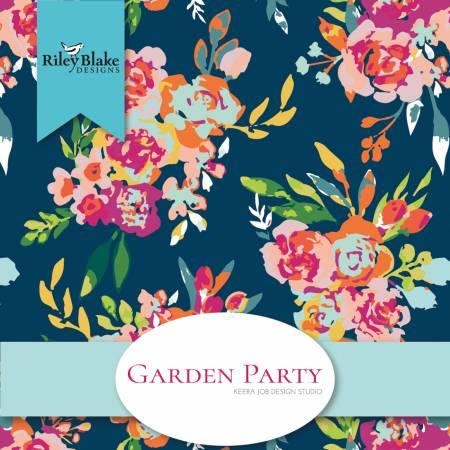 Garden Party Fat Quarter Bundle, 21pcs, 3 bundles/pack