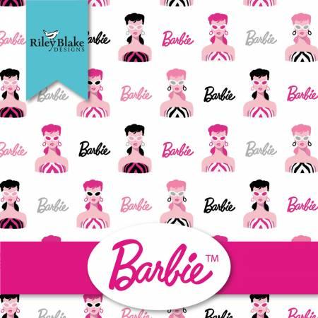 Barbie Fat Quarterbundle, 15pcs,