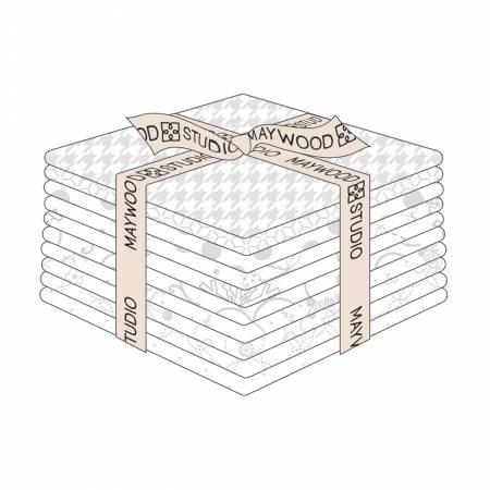 Kimberbell Basics White on White, 10pc/FQ bundle