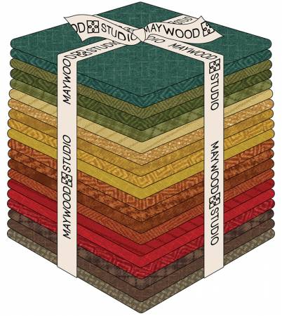 Fat Quarter Woolies Flannel Desert Sunset, 20pcs/bundle