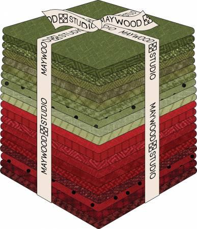 Fat Quarter Woolies Flannel Bundle- Holiday Warmth, 20pcs/bundle