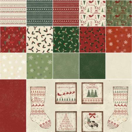 Home For Christmas FQ bundle