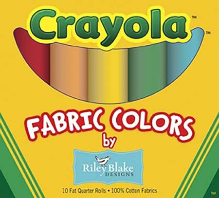 Crayola Colors Fat Quarter Box