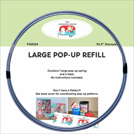 Large 10-1/2in Pop Up Refill