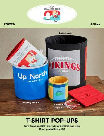 T-Shirt Pop-Ups Pattern - The Fat Quarter Gypsy