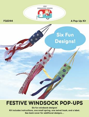 Festive Windsock Pop Ups Kit