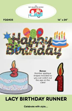 Lacy Birthday Runner