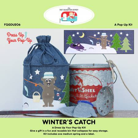 PT S A Fat Quarter Gypsy Winter's Catch