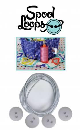 Spool Loops - White - FQGSL01