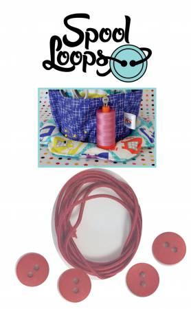 Spool Loops - Red