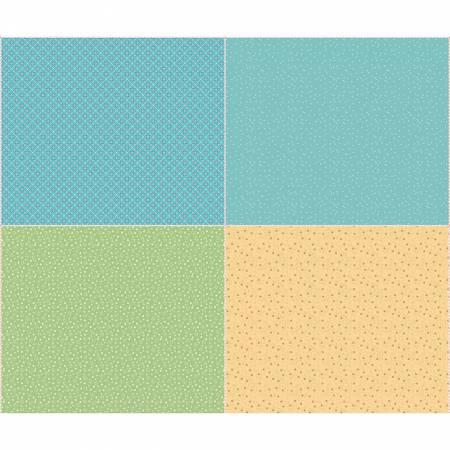 Farm Girl Vintage Companion Fat Quarter Panel Two