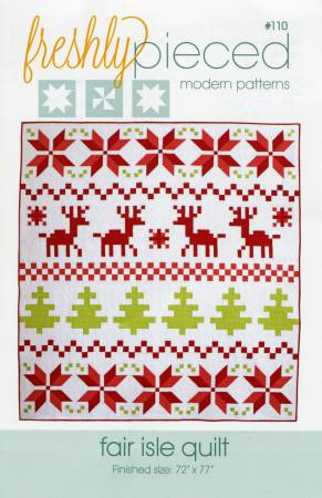 Fair Isle Quilt Pattern by Freshly Pieced Modern Patterns - copy