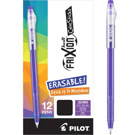 FriXion Ball Color Sticks Pens Purple