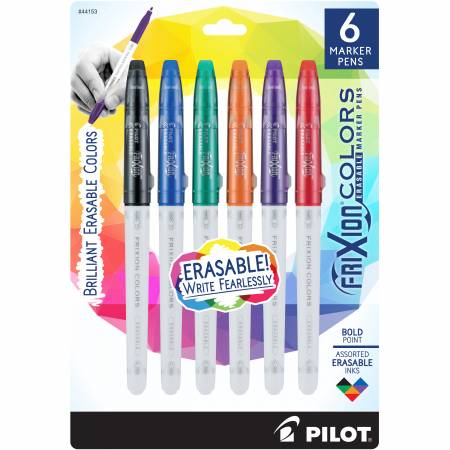 Frixion Colors Bold Assorted 6pk