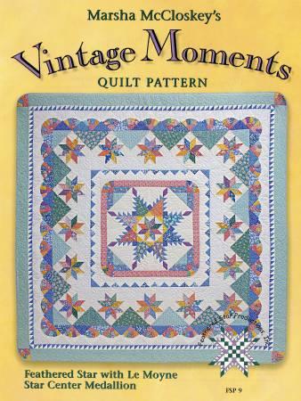 Vintage Moments Quilt Pattern - Book