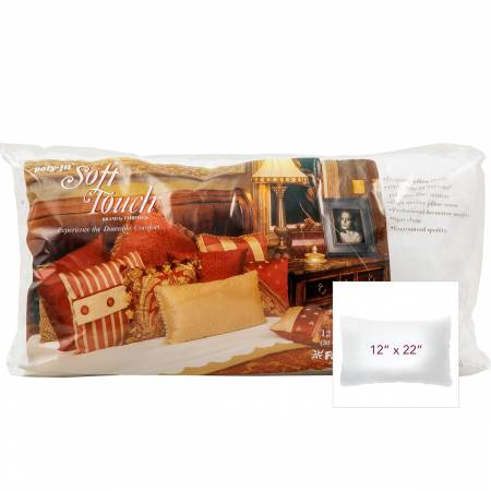 Soft Touch Pillow Form 12in x 22in
