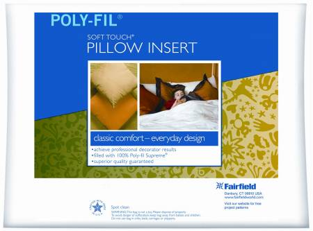 Soft Touch Pillow Form 12in x 12in by Fairfield
