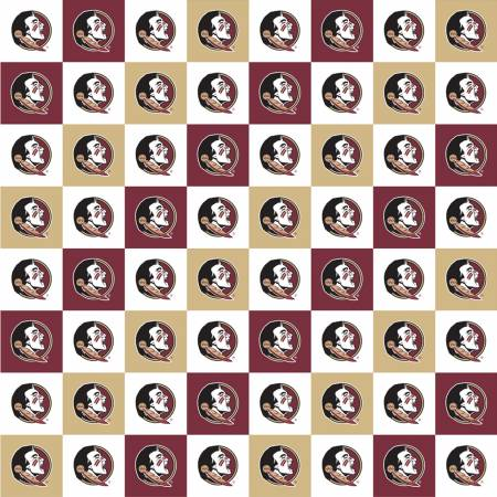 Licensed: FSU Florida State Seminoles Squares by Sykel Enterprises