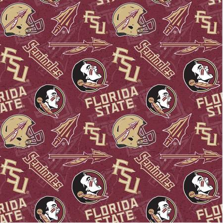 NCAA Florida State Tone on Tone Cotton