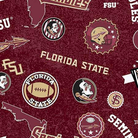 Licensed: FSU Florida State Seminoles Home State by Sykel Enterprises