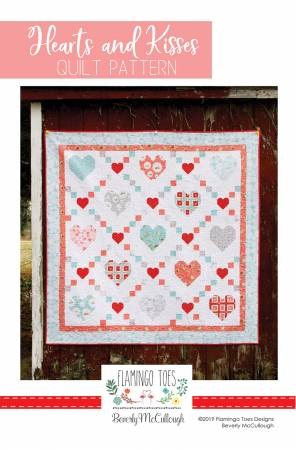 Hearts and Kisses Quilt Pattern