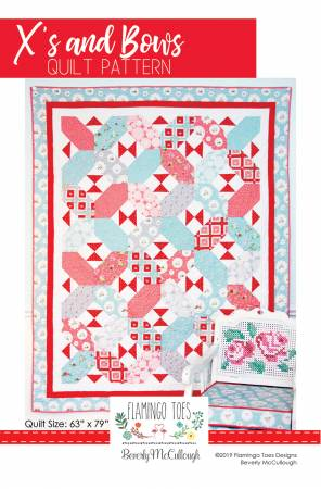 X's and Bows Quilt Pattern