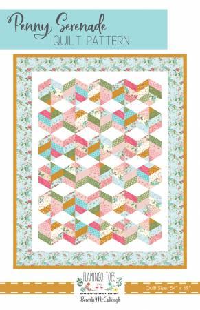 Penny Serenade Quilt Pattern ~ RELEASE DATE MAR 1/21 ~