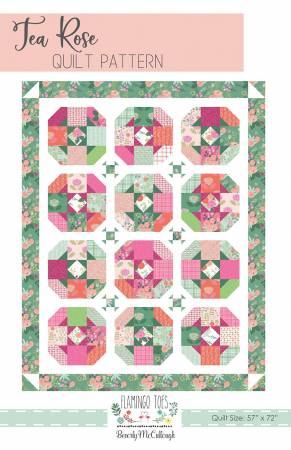 Tea Rose Quilt Pattern