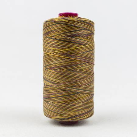 Fruitti Variegated 12wt Cotton Thread 400m Turtle