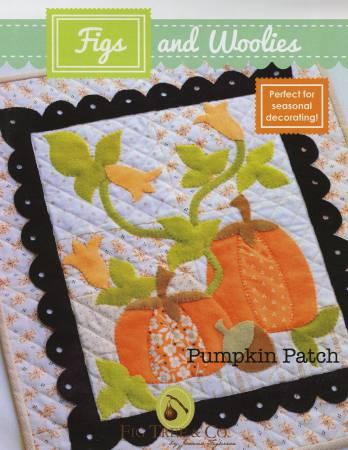 Pumpkin Patch 15x17 Wool