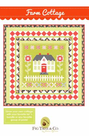 Farm Cottage Pattern by Fig Tree Quilts