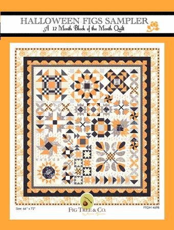 Halloween Figs Block Of The Month Full Kit