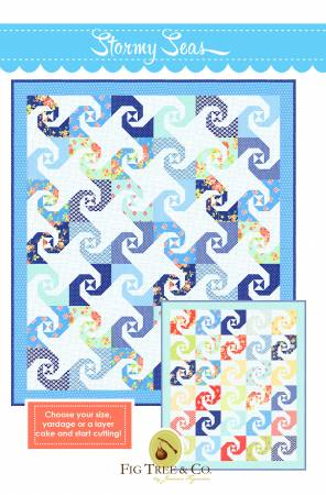 Fig Tree & Co. Stormy Seas Quilt Pattern