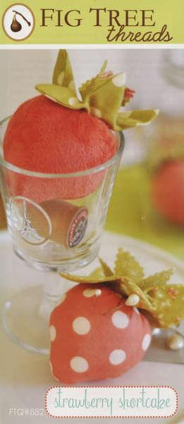 Strawberry Shortcake Pincushion Pattern