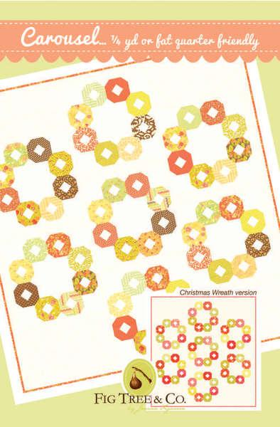 Carousel Quilt Pattern by Fig Tree
