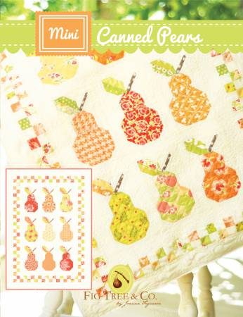 Mini Canned Pears Quilt Pattern