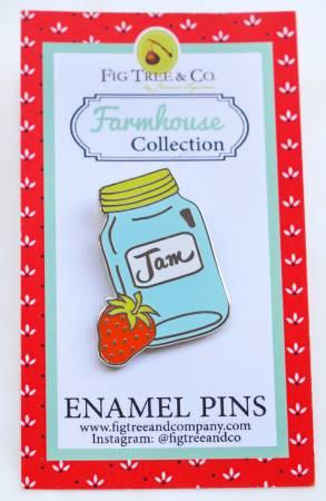 Mason Jar Enamel Pin