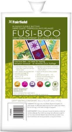 Batting Fusiboo Bamboo Rayon & Cotton 36in x 45in