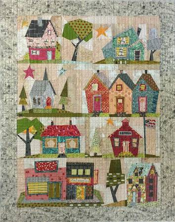 My Kinda Town Quilt Pattern By Peggy Larsen for Fiberworks