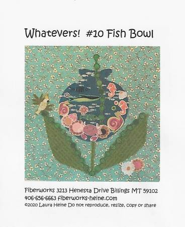 Whatevers #10 Fish Bowl Collage