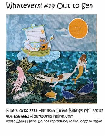 Whatevers! #19 Out to Sea Collage Pattern