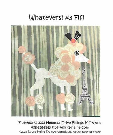 Whatevers! #3 FiFi - Pattern