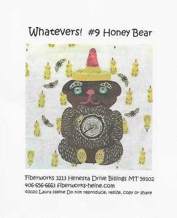 Honey Bear Collage Pattern