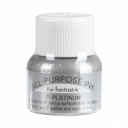 All Purpose Liquid Ink Platinum .5oz